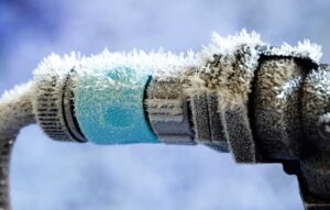 frozen pipes in mobile home